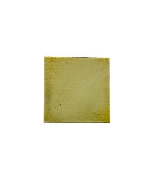 "MSBR30124 = Brass Shape - Square 3/4""  (24ga) (Pkg of 6)"