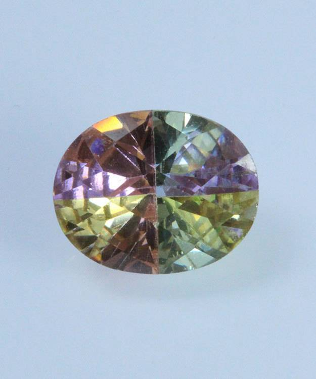 LSOV10X8 = Lucky Stone Oval Cut CZ 10x8mm (Each) **CLOSEOUT**