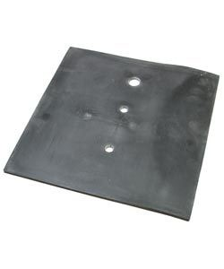 "INVESTING RUBBER PAD 10""x10"""