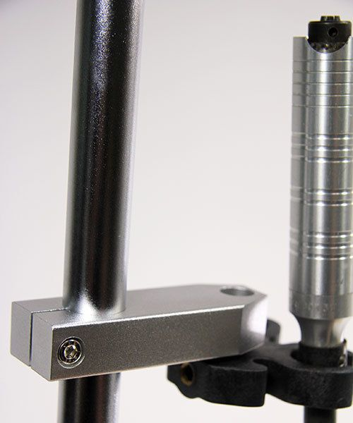 HO8013-08 = Dual Handpiece Rest by Foredom (5-1/4'' long)