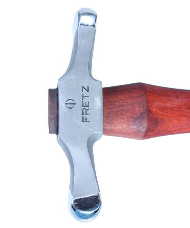 HA8304 = Fretz Extra Large Embossing Hammer HMR-304