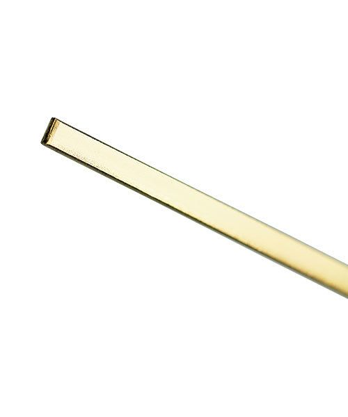GFW2510 = 14KY Gold Flat Wire 2.5x1.0mm (Sold by the inch)