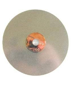 GRS G02138 = GRS 5'' Dia. Power Hone Sharpening Wheel 260grit (coarse)