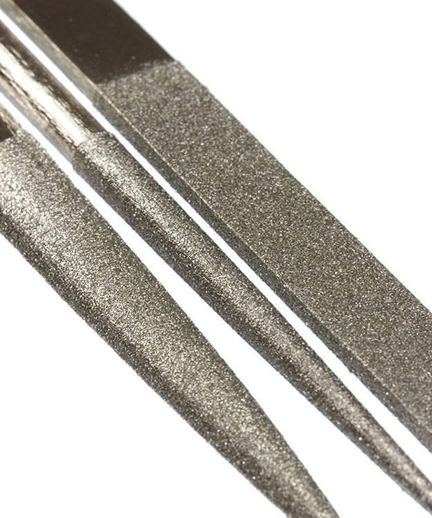 FI9762 = DIAMOND FILE SET 10pcs HALF CUT 180grit 160mm