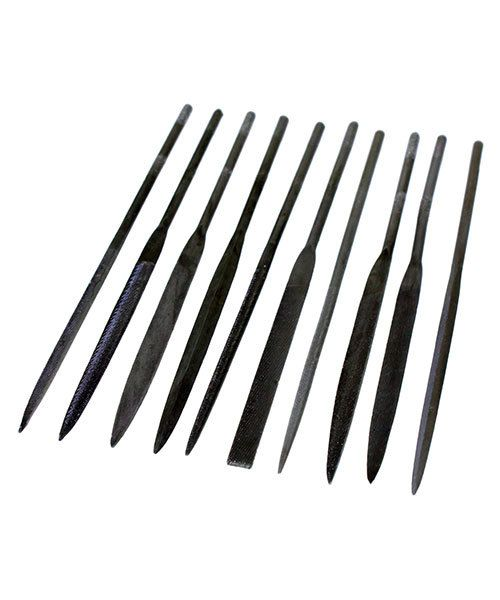 FI6004 = Economy Needle File Set - Cut 2 - 5-1/2'' (10 pcs)