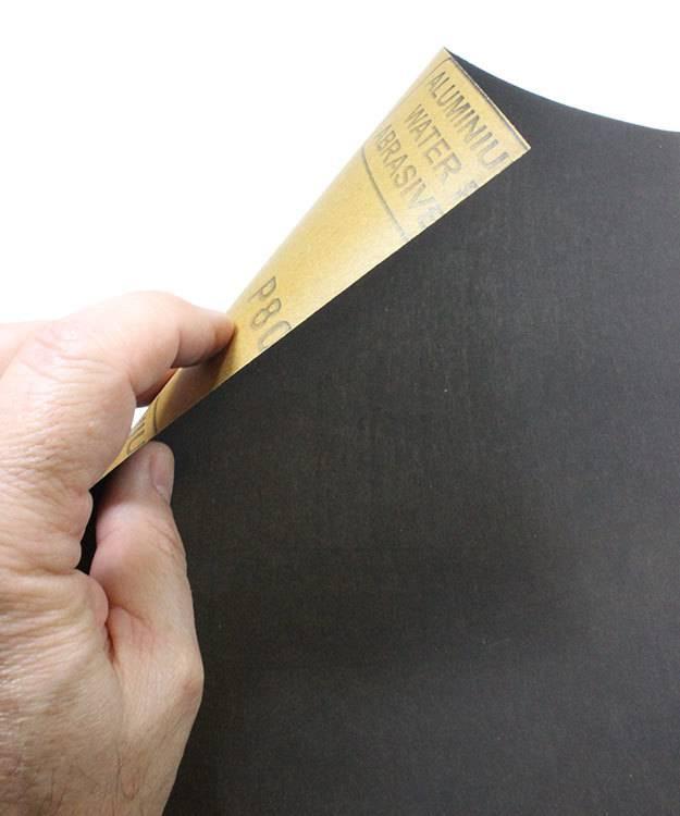 EM9376 = Economy Aluminum Oxide Paper #3 (180grit) (Pkg of 3)