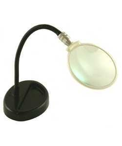 EL702 = FLEXIBLE MAGNIFIER on STAND