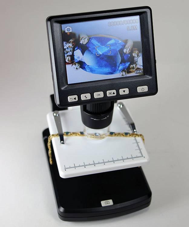 EL2990 = LCD Portable Digital Microscope by Grobet USA