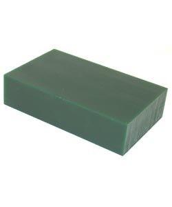 21.02760 = DuMatt Green Carving Wax 1 Block (1lb)