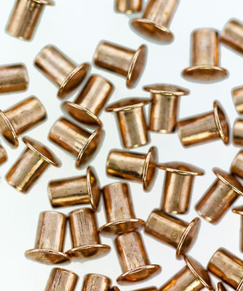 CCCU1103 = COPPER RIVETS 3/32''dia x 1/8''long for RIVET TOOL (50pcs)