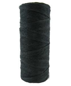 CD6011 = Hemp Cord BLACK COLOR 10lb TEST - 50g SPOOL