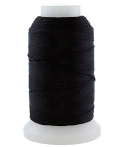 CD7016 = Silk Thread 1/2oz Spool BLACK SIZE D