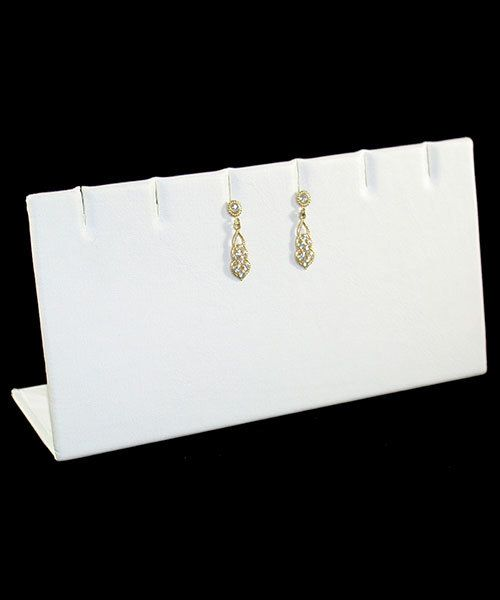 DER6246 = LEATHERETTE EARRING/PENDANT STANDS 3 PAIR