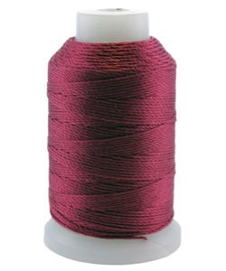 CD7079 = Silk Thread 1/2oz Spool MAROON SIZE FF