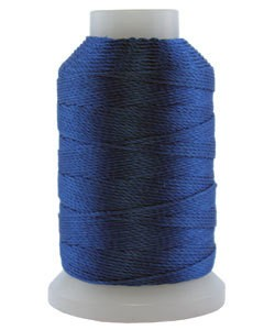 CD7109 = Silk Thread 1/2oz Spool ROYAL BLUE SIZE FF