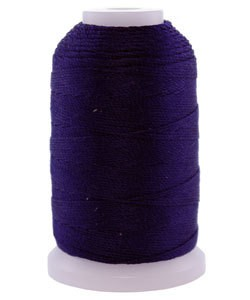 CD7118 = Silk Thread 1/2oz Spool NAVY BLUE SIZE F