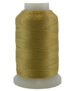 CD7157 = Silk Thread 1/2oz Spool GOLD SIZE E