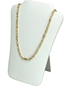 DCH6678 = LEATHERETTE NECKLACE EASELS PADDED  6-1/2'' X 8''H