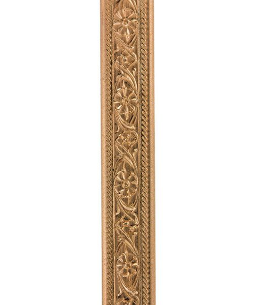 CPW102 = Copper Pattern Wire - MINI FLORAL 1.40 x 5.18mm - 1 foot piece