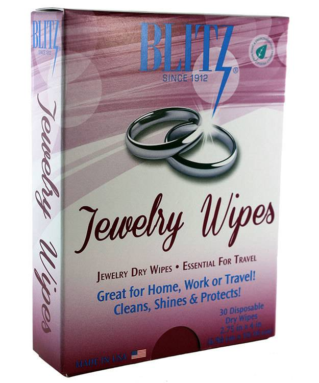 Blitz Mfg CL617 = Jewelry Wipes by Blitz