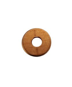 MSC16321 = Copper Washer 9.1mm dia with 3.1mm hole (21ga) (pkg/12)