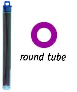 CA1965 = Cowdery Wax ROUND TUBE 2.5mm - PURPLE