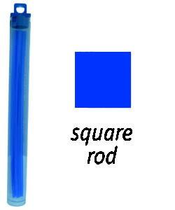 CA1910 = Cowdery Wax SOLID SQUARE 2.0mm - BLUE