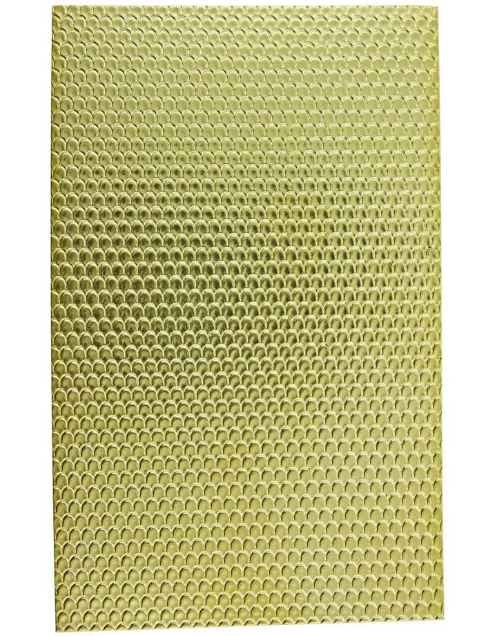 "BSP216 Patterned Brass Sheet 2-1/2"" Wide"