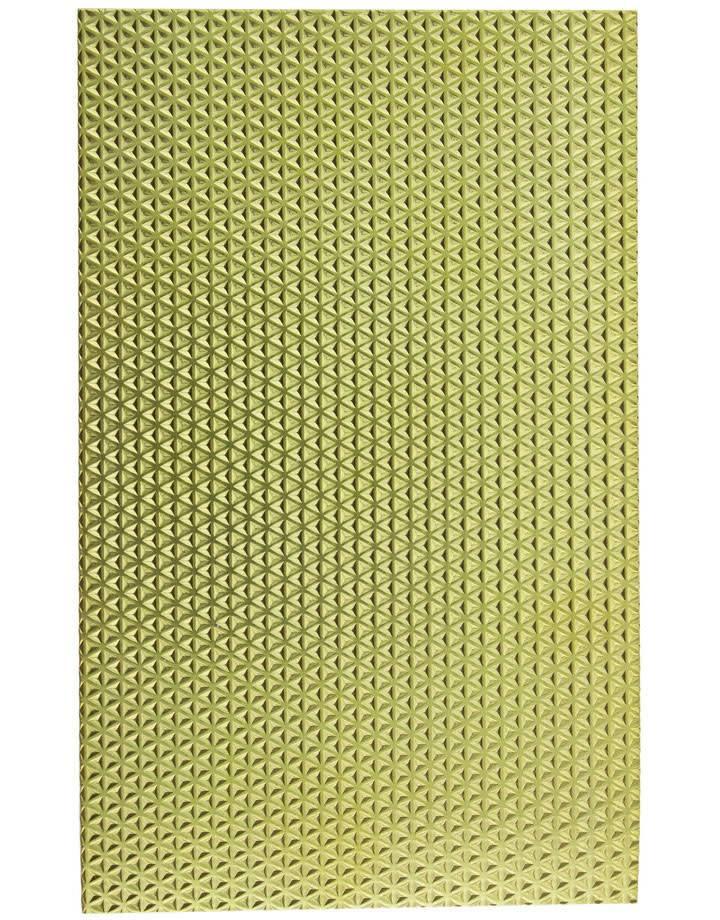 """BSP218 Patterned Brass Sheet 2-1/2"""" Wide"""