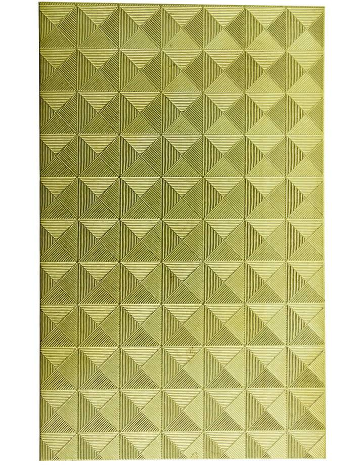 """BSP226 Patterned Brass Sheet 2-1/2"""" Wide"""