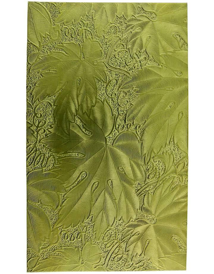 """BSP241 Patterned Brass Sheet 2-1/2"""" Wide"""