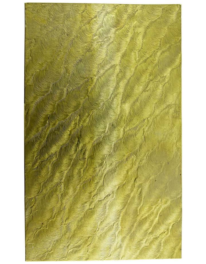 "BSP254 Patterned Brass Sheet 2-1/2"" Wide"