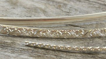 Sterling Silver Wire Sheet Pattern Wire And Stampings
