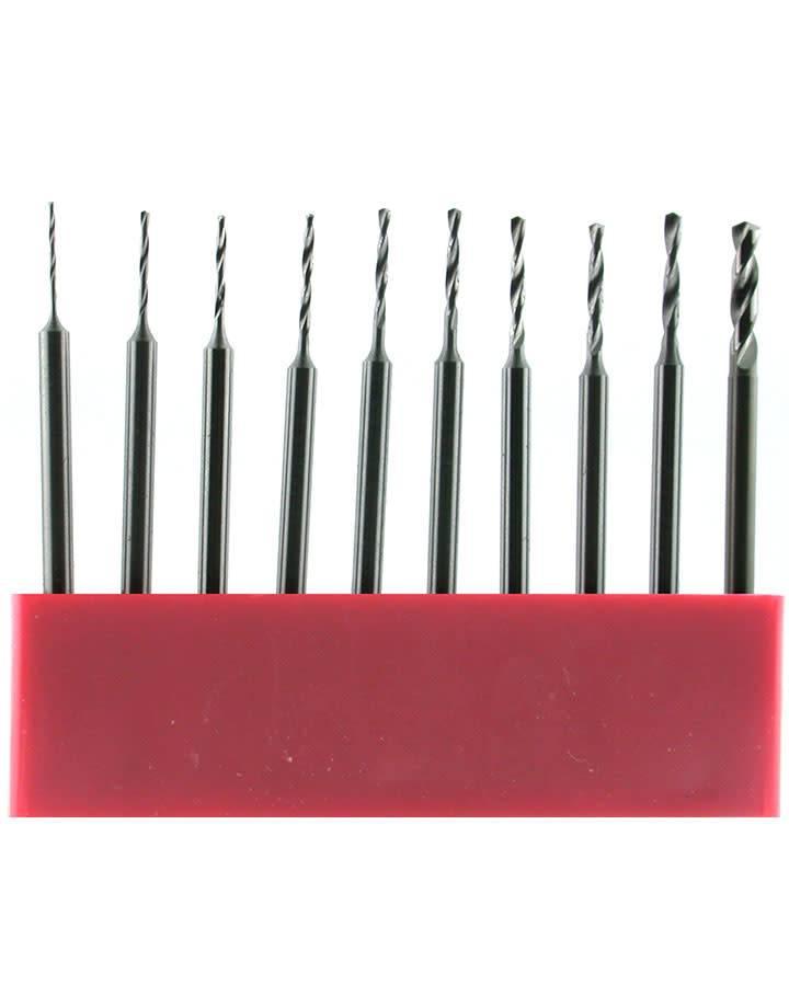77.2699 = Uniform Shank Twist Drill Set 12pcs (Sizes 0.5 to 1.6mm)