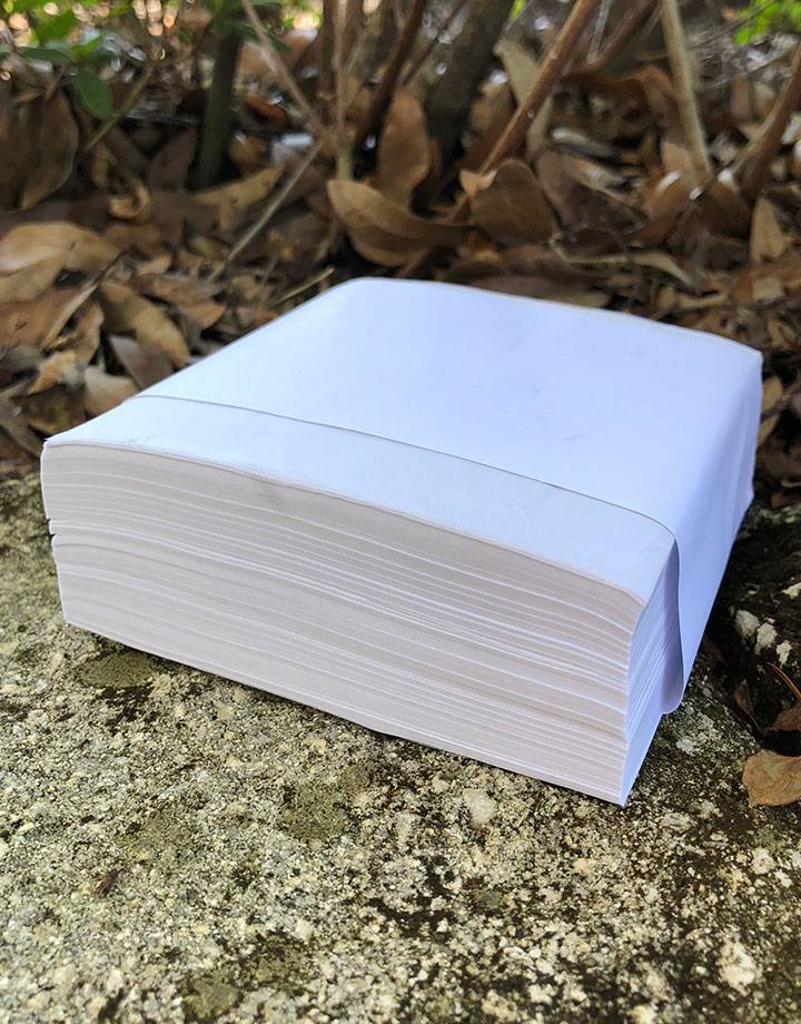 61.0144 = PAPER TISSUE 4''x4'' (Box of 1000 sheets)