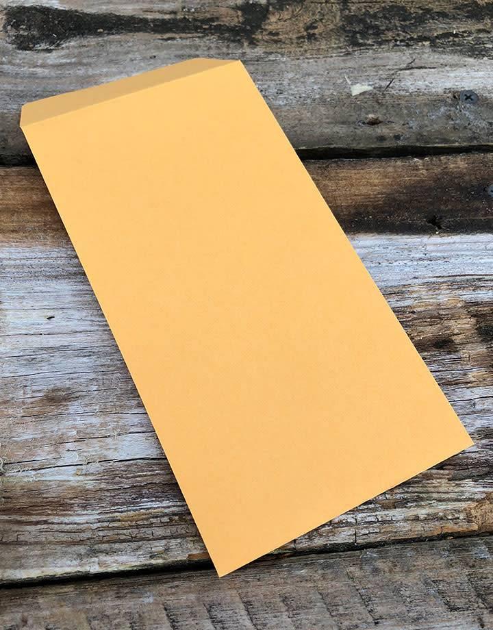 61.115 = Brown Paper Envelope 6'' x 3-1/2'' (Box of 500)