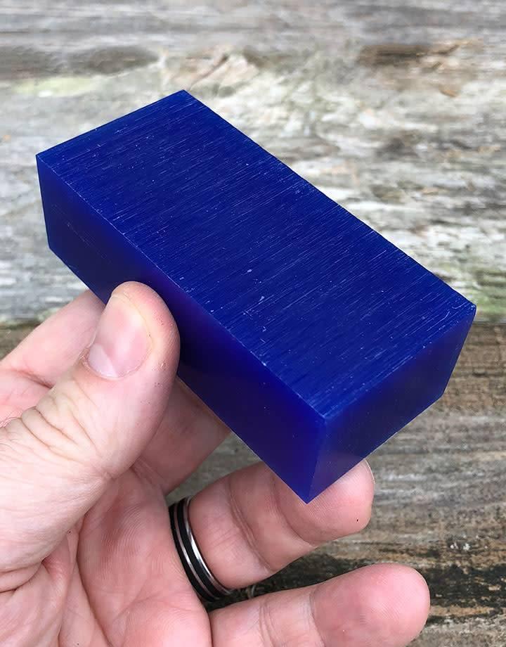 Du-Matt 21.02753 = DuMatt Blue Carving Wax 3 Bars (1/2lb)