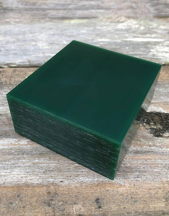21.02755 = DuMatt Green Carving Wax Block (1/2lb)