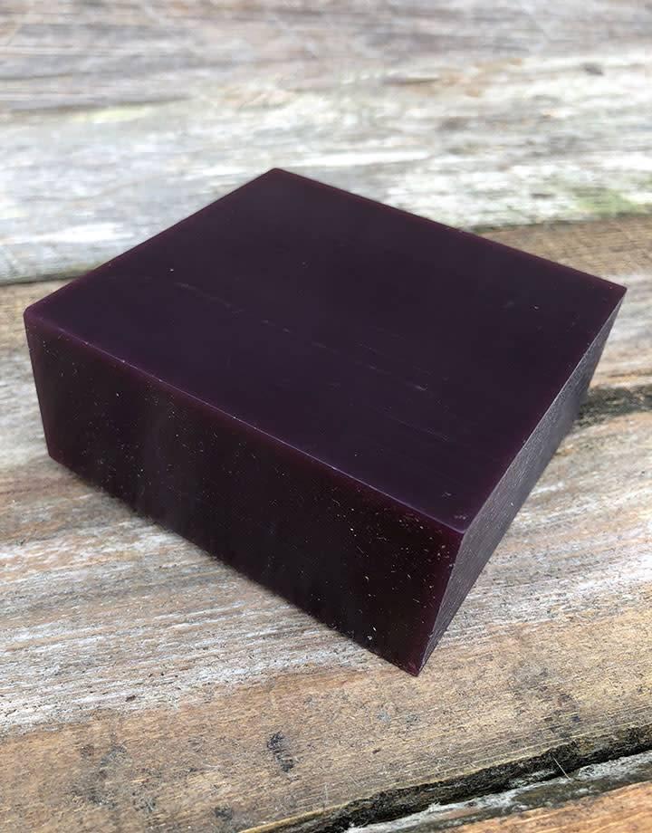 21.02756 = DuMatt Purple Carving Wax Block (1/2lb)