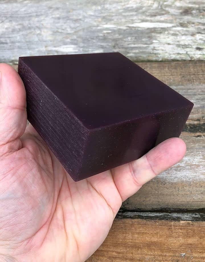 Du-Matt 21.02756 = DuMatt Purple Carving Wax Block (1/2lb)