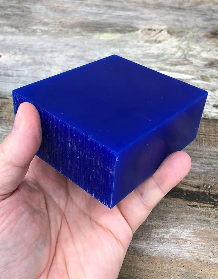 Du-Matt 21.02757 = DuMatt Blue Carving Wax Block (1/2lb)