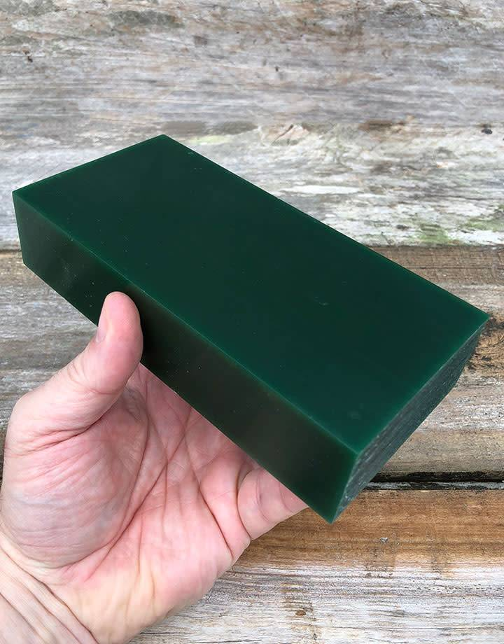 Dumatt green carving wax block lb fdj tool