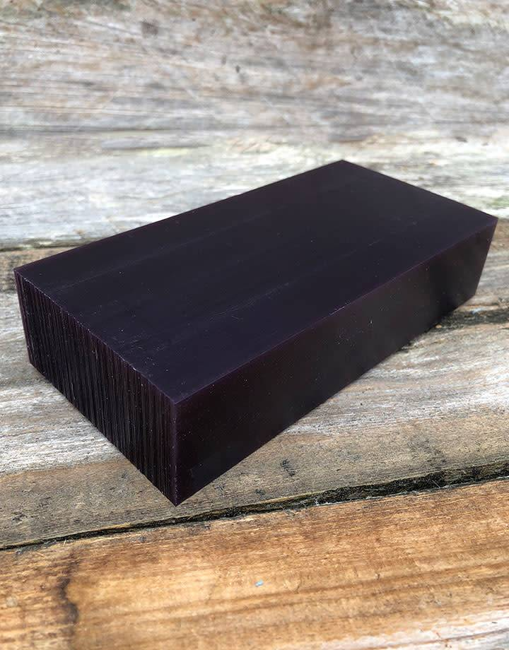21.02761 = DuMatt Purple Carving Wax Block (1lb)