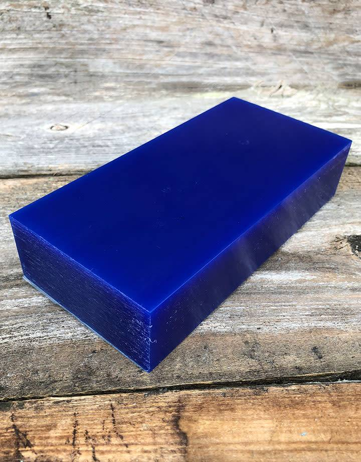 Dumatt blue carving wax block lb fdj tool