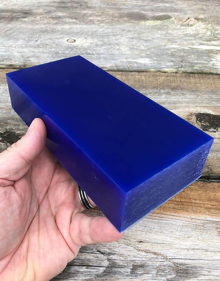 Dumatt blue carving wax block lb fdj tool