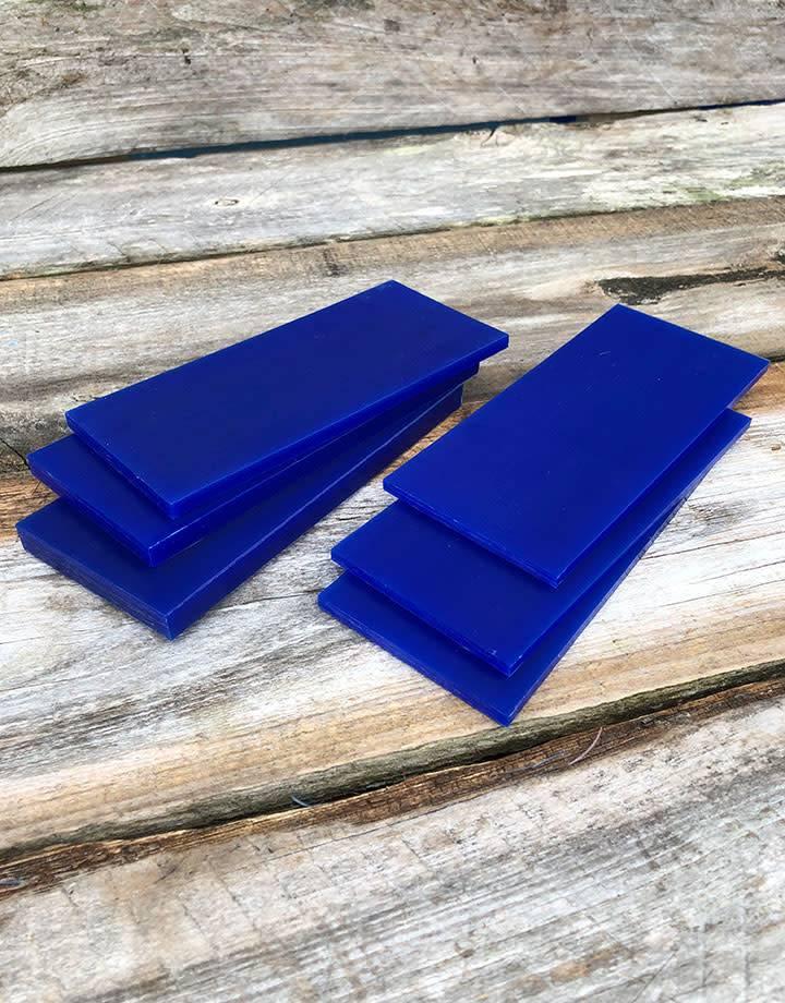 Du-Matt 21.02773 = DuMatt Blue Carving Wax Tablets Set of 6