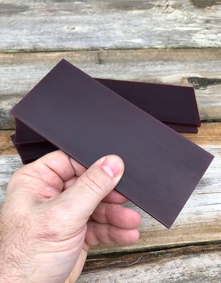 21.02777 = DuMatt Purple Carving Wax Tablets Set of 7