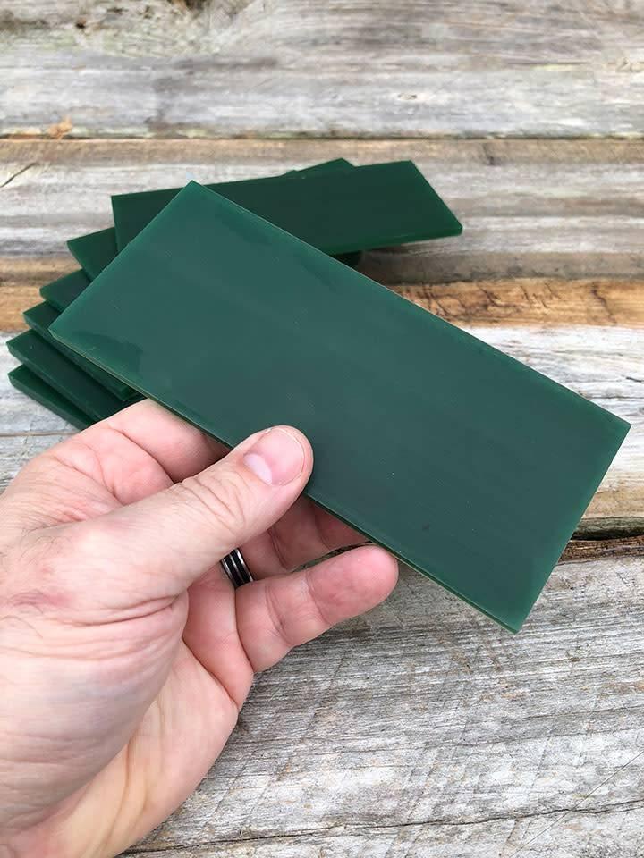 Du-Matt 21.02778 = DuMatt Green Carving Wax Tablets Set of 7