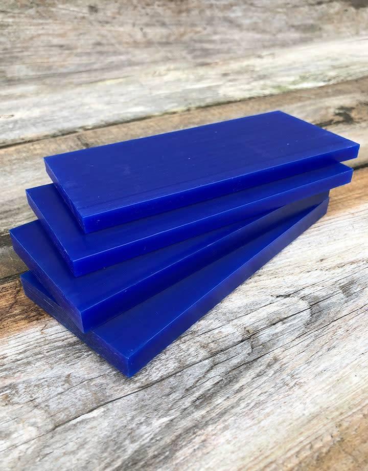 21.02781 = DuMatt Blue Carving Wax Tablets Set of 4