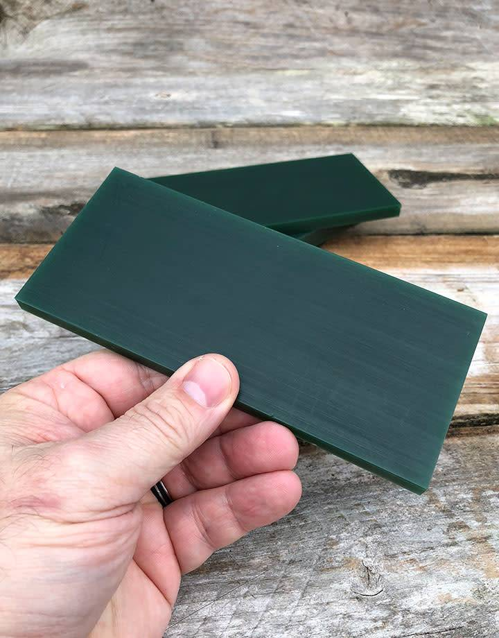 21.02783 = DuMatt Green Carving Wax Tablets Set of 4